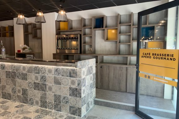 Restaurant, Concept, Décoration, Mobilier, CHR, Brasserie, Tapas, Matériaux, Bar, Carreaux de ciment